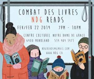 Combat des livres NDG Reads